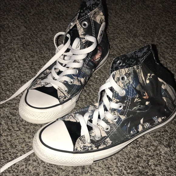 Converse Shoes | Batman | Poshma