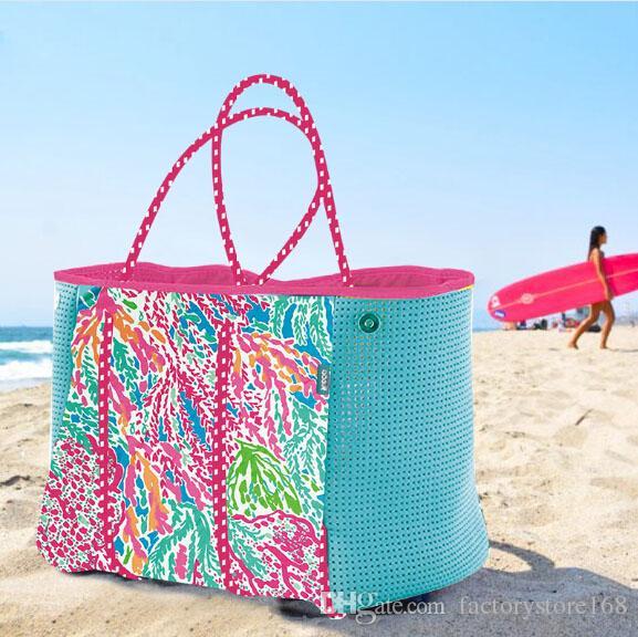 2019 DIY Neoprene Women Beach Bag Fashion Trapeze Tote Bags Luxury .