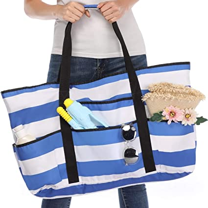 Amazon.com: Beach Bag, Extra Large Beach Bags Totes for Women with .