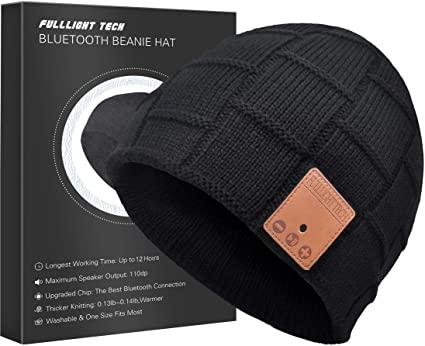 Amazon.com: Upgraded Bluetooth Beanie Hat Headphones Wireless .