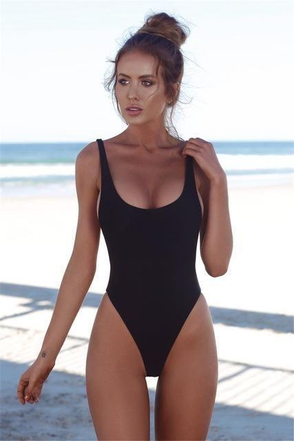 Ariel Sarah Brand 2018 Solid Bikini Swimsuit Hot Swimwear Women .