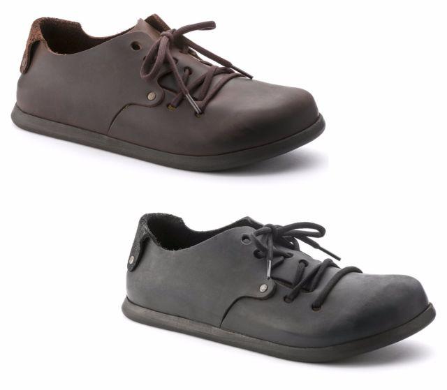 Birkenstock London Oiled Leather Slip Ons Habana 42 Euro (men US 9 .