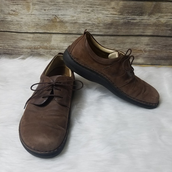 Birkenstock Shoes | Footprints Nubuck Oxford Leather | Poshma