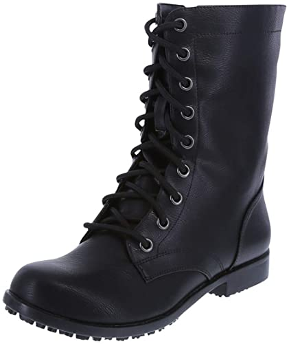 Amazon.com | safeTstep Slip Resistant Women's Brooke Lace-Up with .