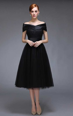 Black Cocktail Dresses with Sleeves – Fashion dress