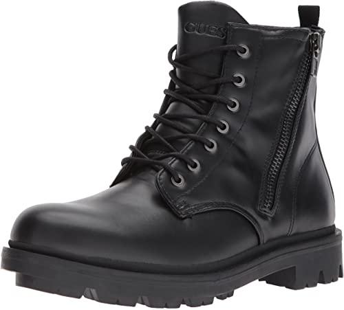 Amazon.com | GUESS Men's Archibald Combat Boot | Motorcycle & Comb