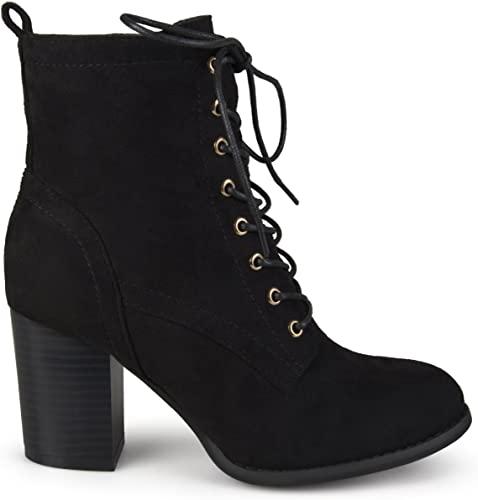 Amazon.com | Brinley Co Women's Birdie Combat Boot | Ankle & Boot