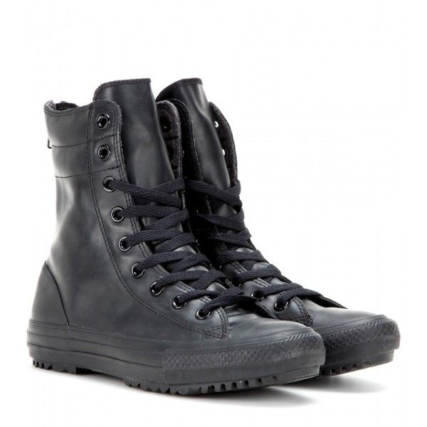 Converse Chuck Taylor High-Top Sneakers ($105) ❤ liked on .