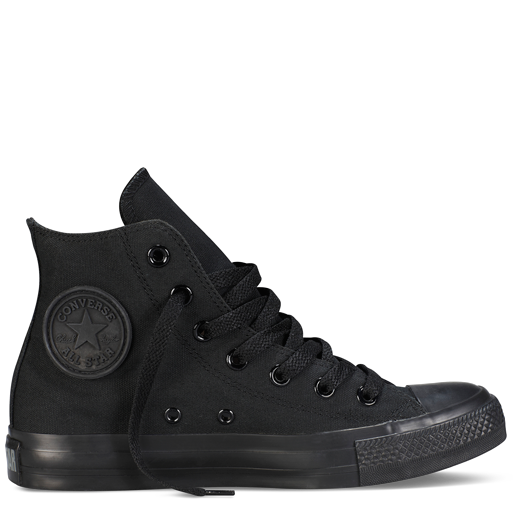 All-Black High Top Chuck Taylor Shoes : Converse Shoes   Converse .