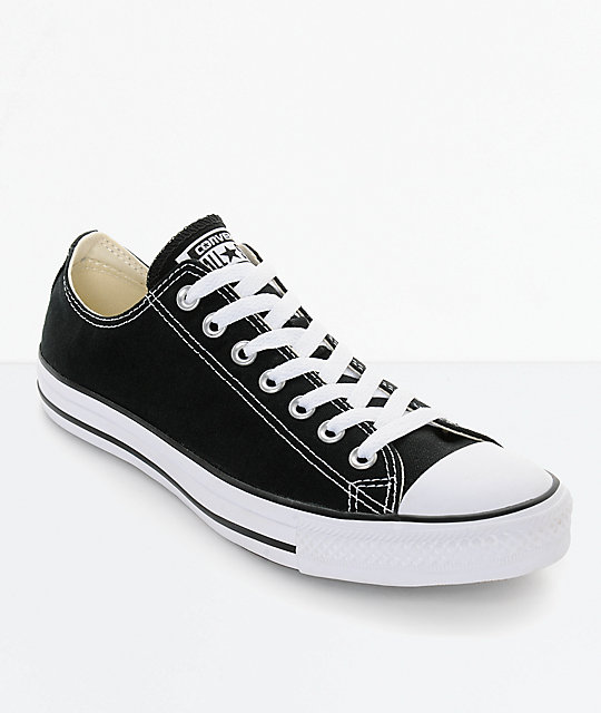 Converse Chuck Taylor All Star Black & White Shoes | Zumi