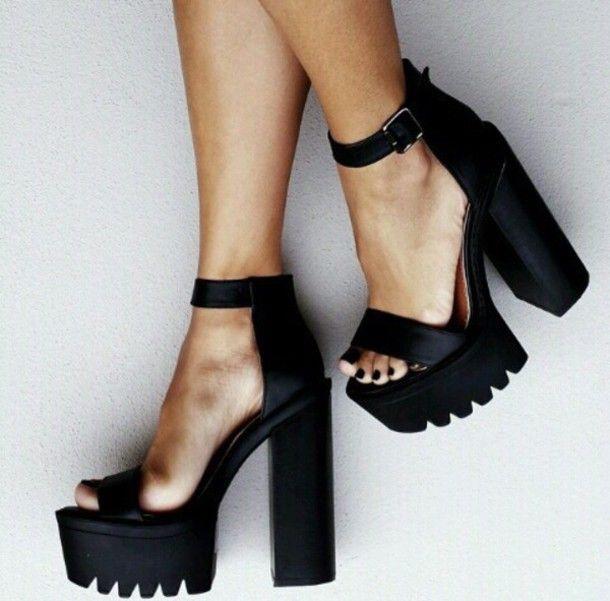 Jeffrey Campbell Fabou Platform - Black (With images) | High heels .