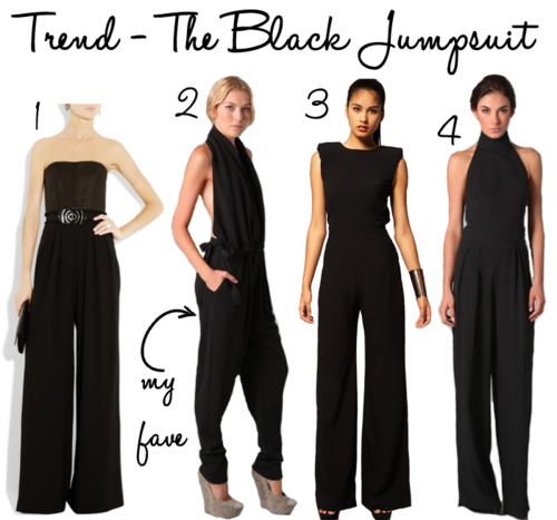THE BLACK JUMPSUIT | The Style Scri