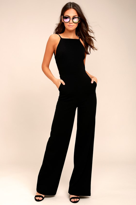 Something to Behold Black Jumpsuit in 2020 | Jumpsuits for women .