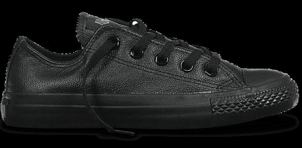 converse leather bla