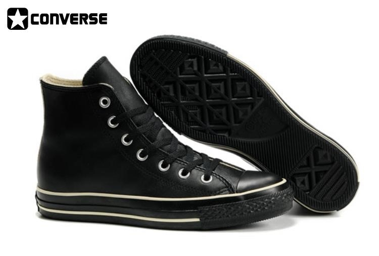 Converse Shoes Leather Black infinities1st.c