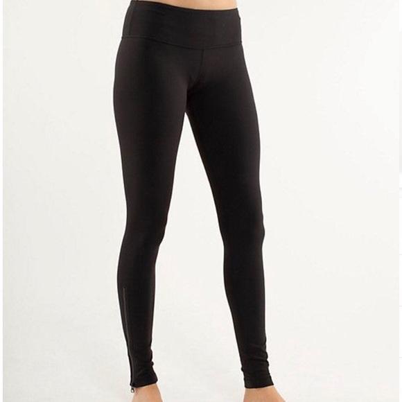 lululemon athletica Pants   Lululemon Black Leggings With Side .
