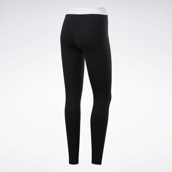 Reebok Classics Linear Leggings - Black   Reebok