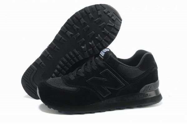 Joes New Balance 574 Running Classic All Black Womens Shoes | New .
