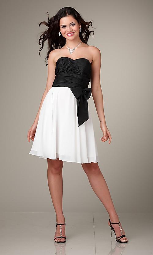 Black And White Party Dresses - Nini Dre