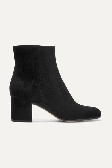 Gianvito Rossi | Margaux 65 suede ankle boots | NET-A-PORTER.C