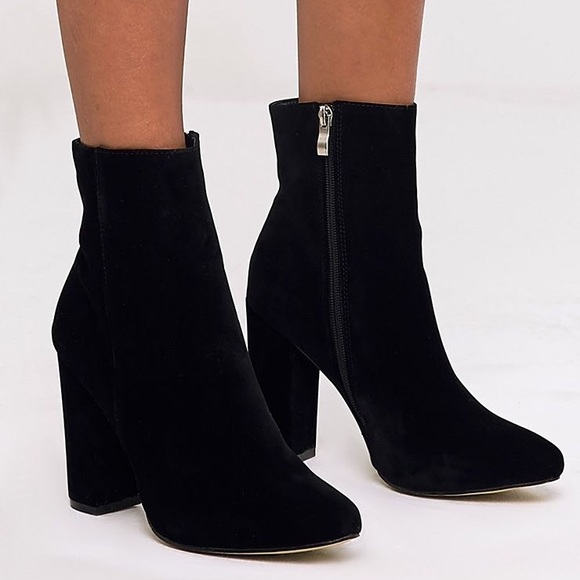 PrettyLittleThing Shoes | Pretty Little Thing Behati Black Suede .