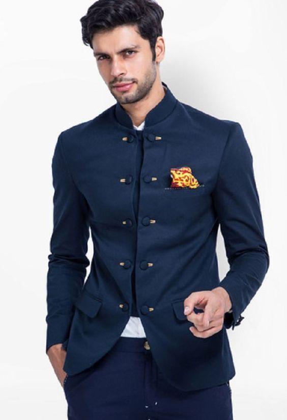 Bandhgala Blazers   Indian men fashion, Designer suits for men .