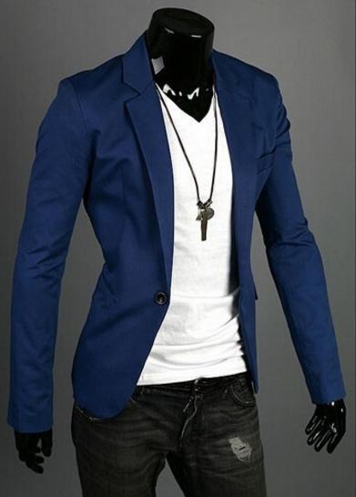 Men's Casual Blazer Suit Jacket - 8 Colors   Blazers for men .