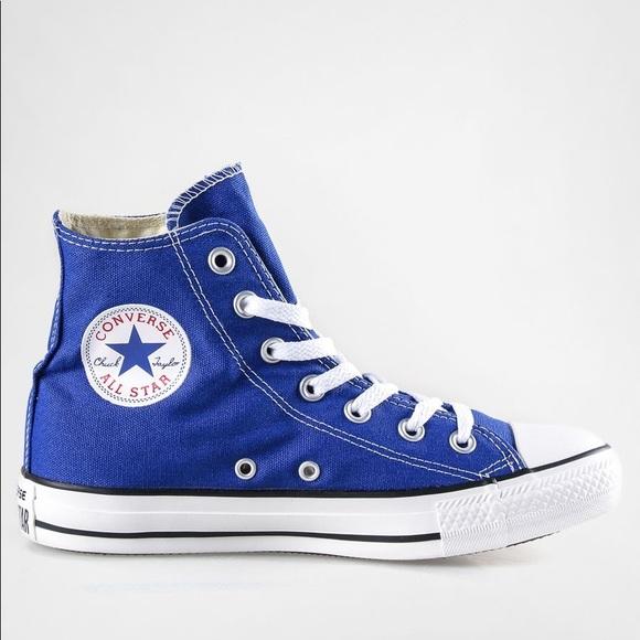 Converse Shoes | High Top Blue | Poshma