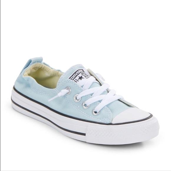 Converse Shoes | Light Blue Shoreline | Poshma