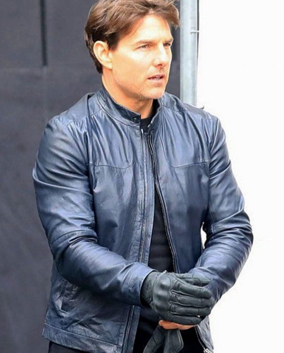 Tom Cruise Mission Impossible Fallout Leather Jack