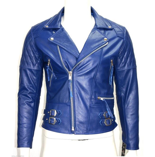 Men Motorcycle Style Leather Jacket Desperado 's | RebelsMark