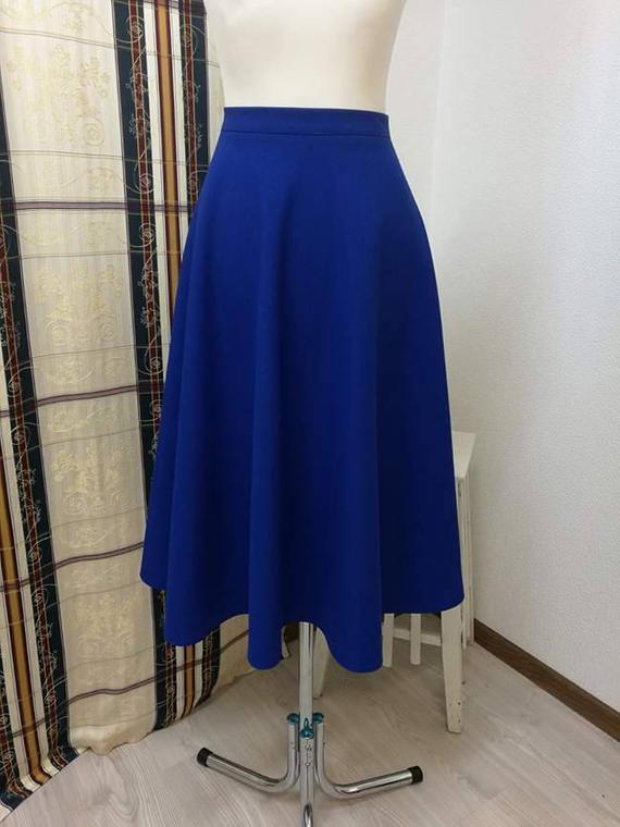 Skirt midi 50s skirt medium length Circle skirts Midi skirt | Et