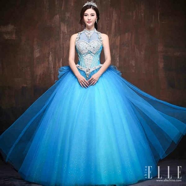 blue wedding dresses « pretty chic lady wor