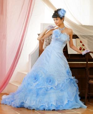 Light Blue Wedding Dress - Wedding Dress Fanta