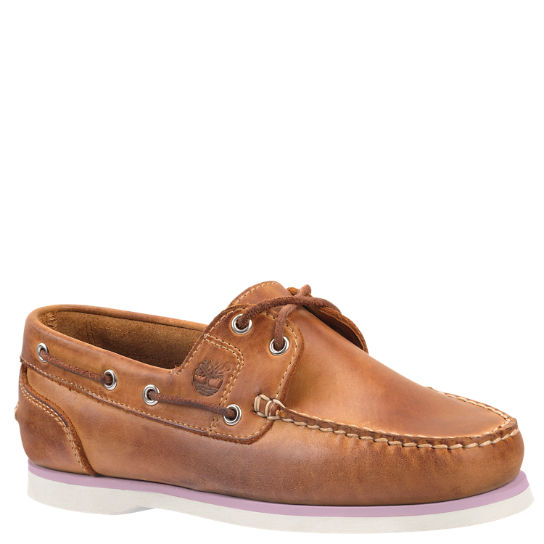 Women's Classic Amherst 2-Eye Boat Shoes | Timberland US Sto