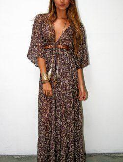 The Bohemian Dress - DRESSES - Shop Online .boho dress. bohemian .