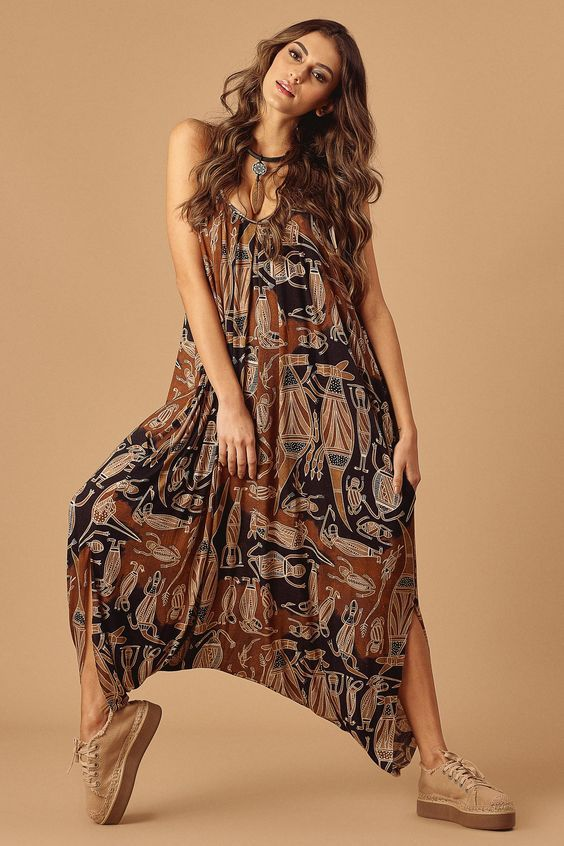 Bohemian outfit and boho clothing   Bohem stili, Bohem modası .