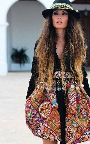300 Boho-Style Fashion Looks #BohoLooks | Boho outfits, Boho style .