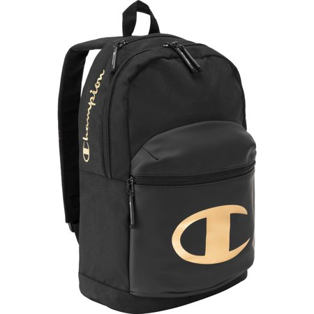 Champion - CHAMPION Specialcize Backpack Gold Black School Bag .