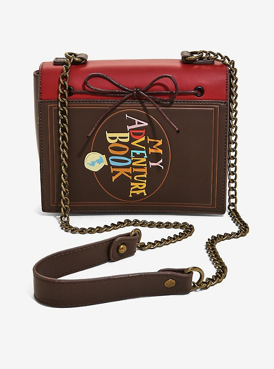 Loungefly Disney Pixar Up Adventure Book Crossbody Bag - BoxLunch .