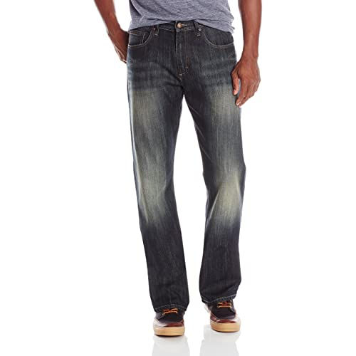 Men's Relaxed Bootcut Jeans: Amazon.c