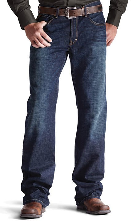 Ariat Men's M4 Legacy Low Rise Relaxed Boot Cut Jeans .