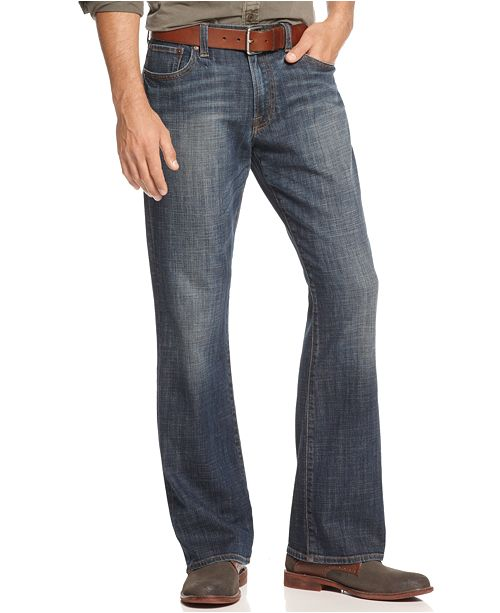 Lucky Brand Men's 367 Vintage Boot Cut Jeans & Reviews - Home .