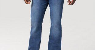 Wrangler® Men's Five Star Premium Flex Relaxed Fit Bootcut Jean .