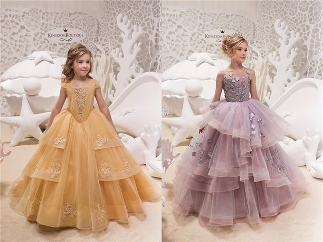 15 Flower Girl Dresses from Kingdom Boutique | Deer Pearl Flowe