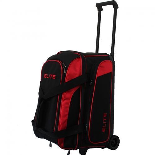 Elite Deuce Bowling Bag - Red And Black - BowlersParadise.c