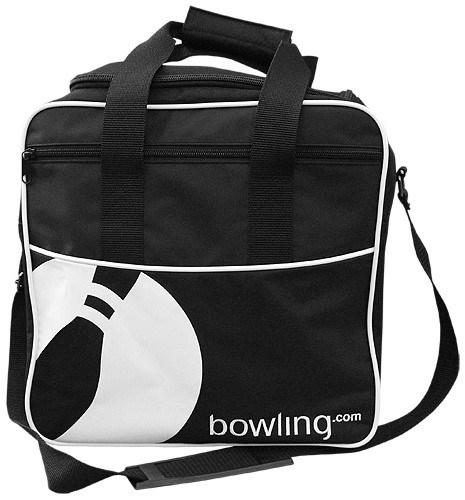 Bowling.com Single Tote Black/White NEW + Free Shippi