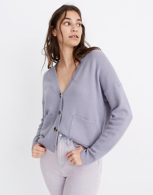 Women's Short Kent Ex-Boyfriend Cardigan Sweater | Madewe