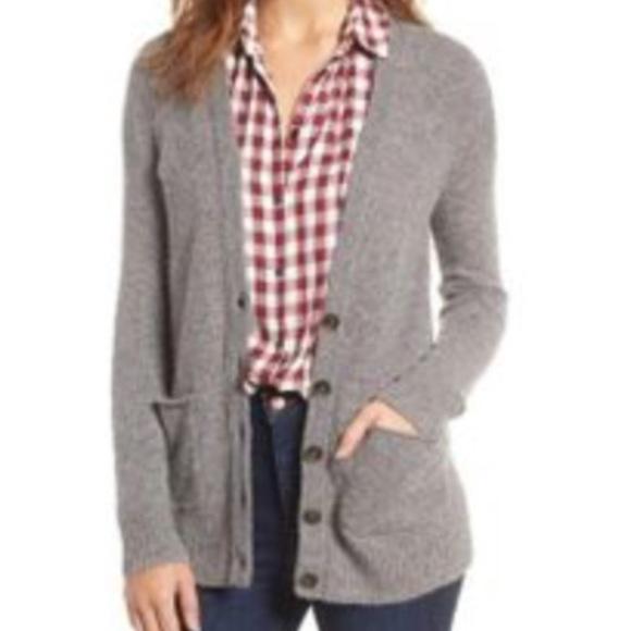 Madewell Sweaters | Cozy Boyfriend Cardigan Nwot | Poshma