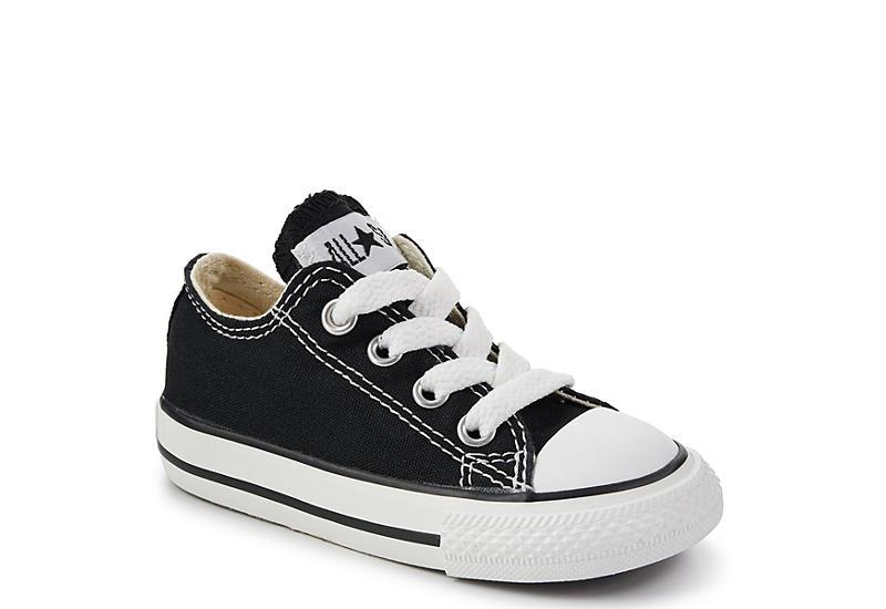 Black Converse All Star Infant Boy Sneakers | Rack Room Sho